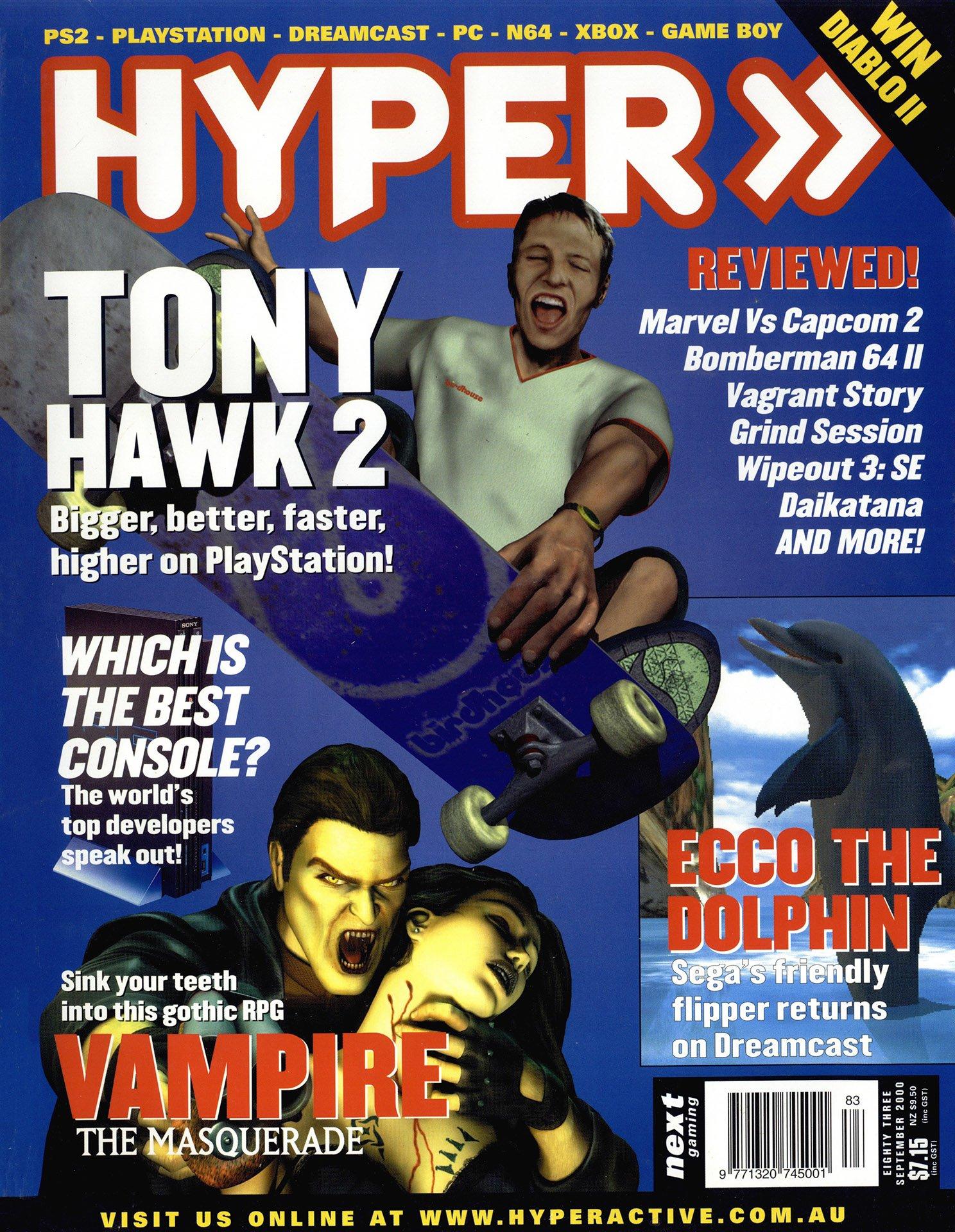 Hyper 083 (September 2000)