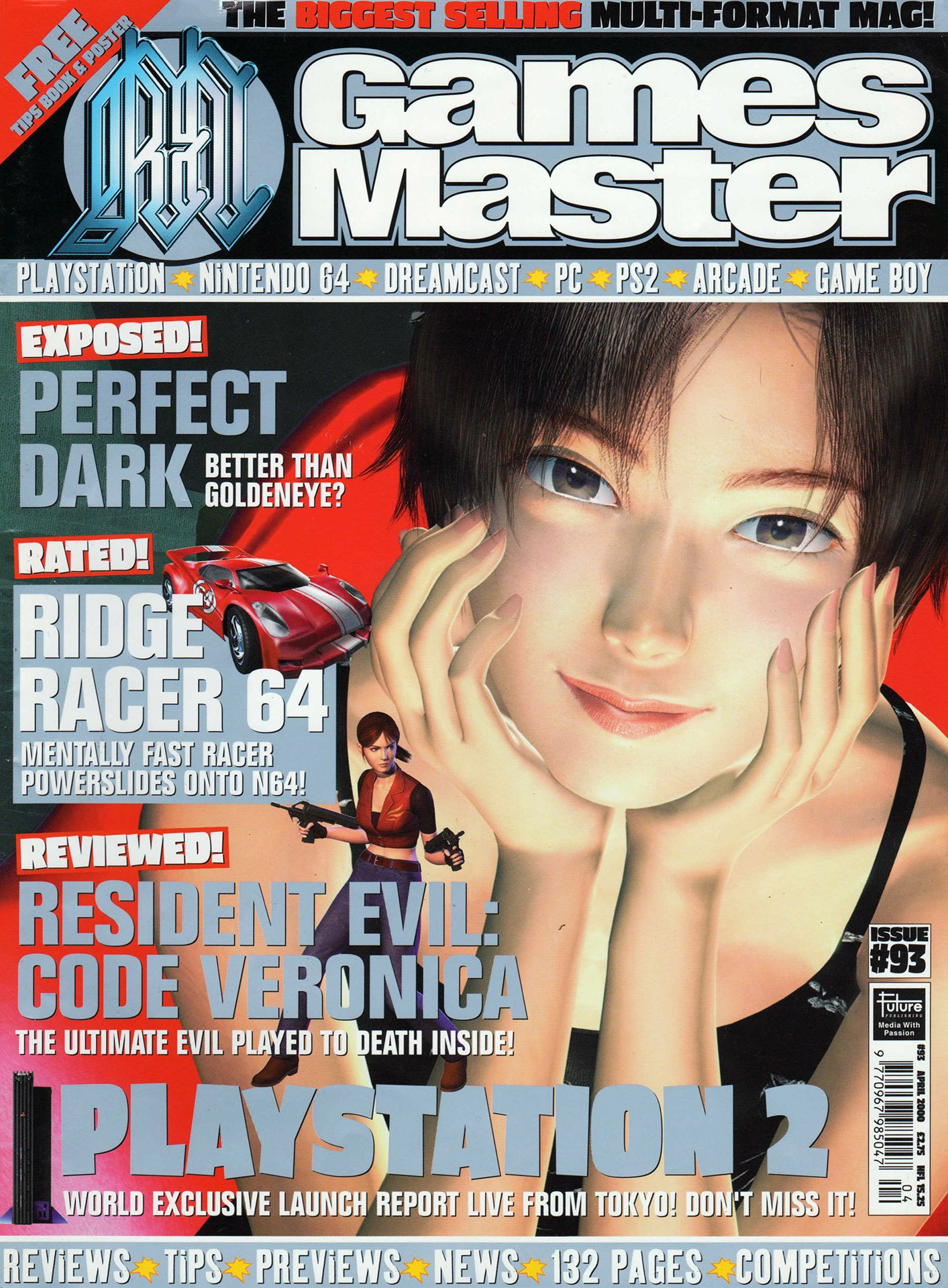 GamesMaster Issue 093 (April 2000)