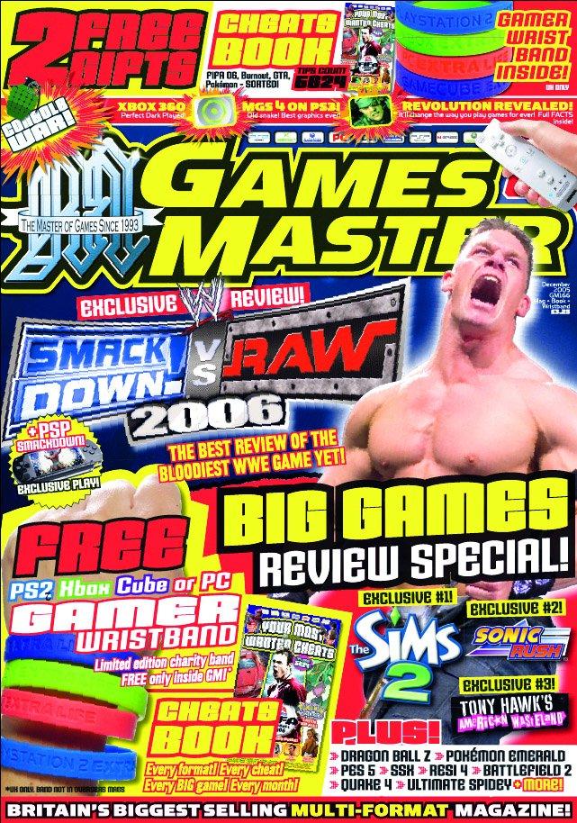 GamesMaster Issue 166 (December 2005)