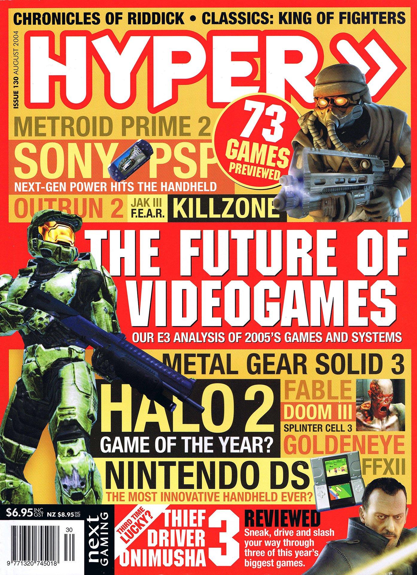 Hyper 130 (August 2004)