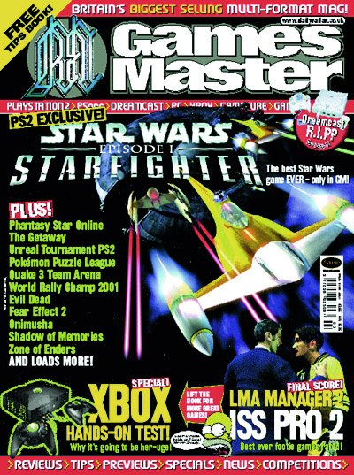 GamesMaster Issue 105 (March 2001)