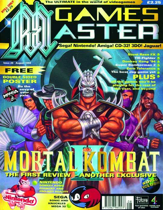 GamesMaster Issue 020 (August 1994)