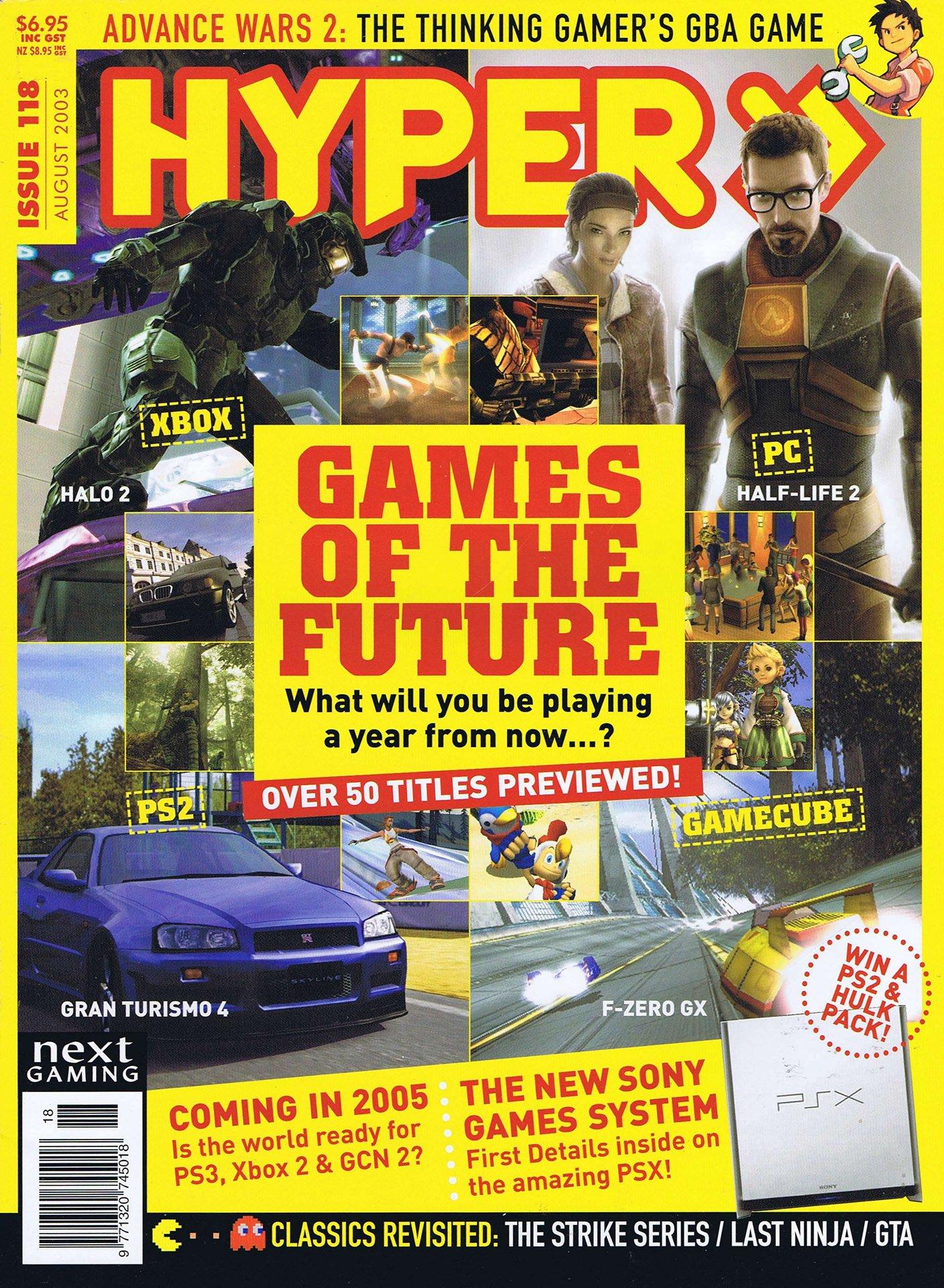 Hyper 118 (August 2003)