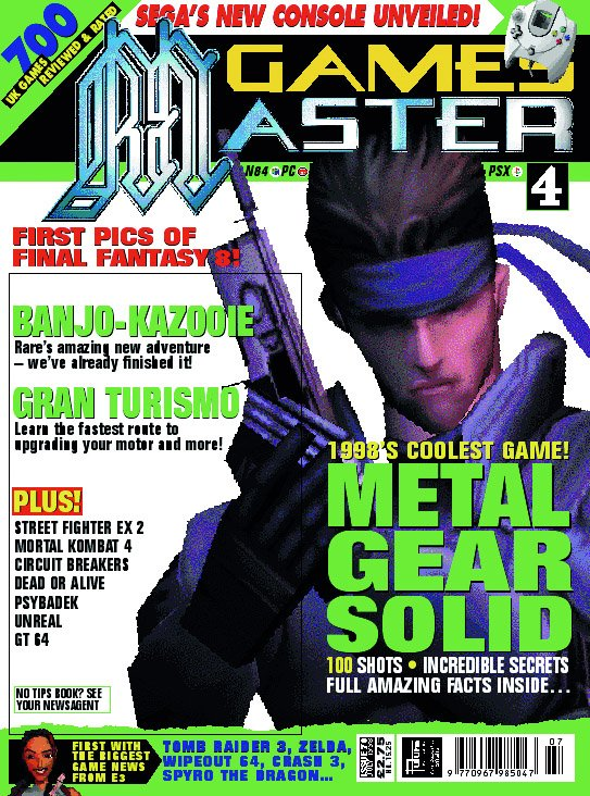 GamesMaster Issue 070 (July 1998)