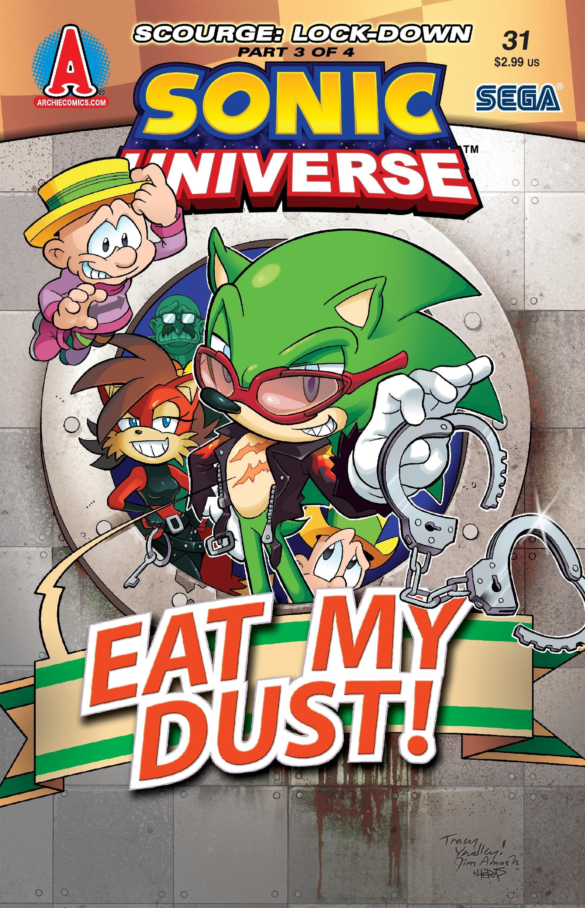Sonic Universe 031 (October 2011)