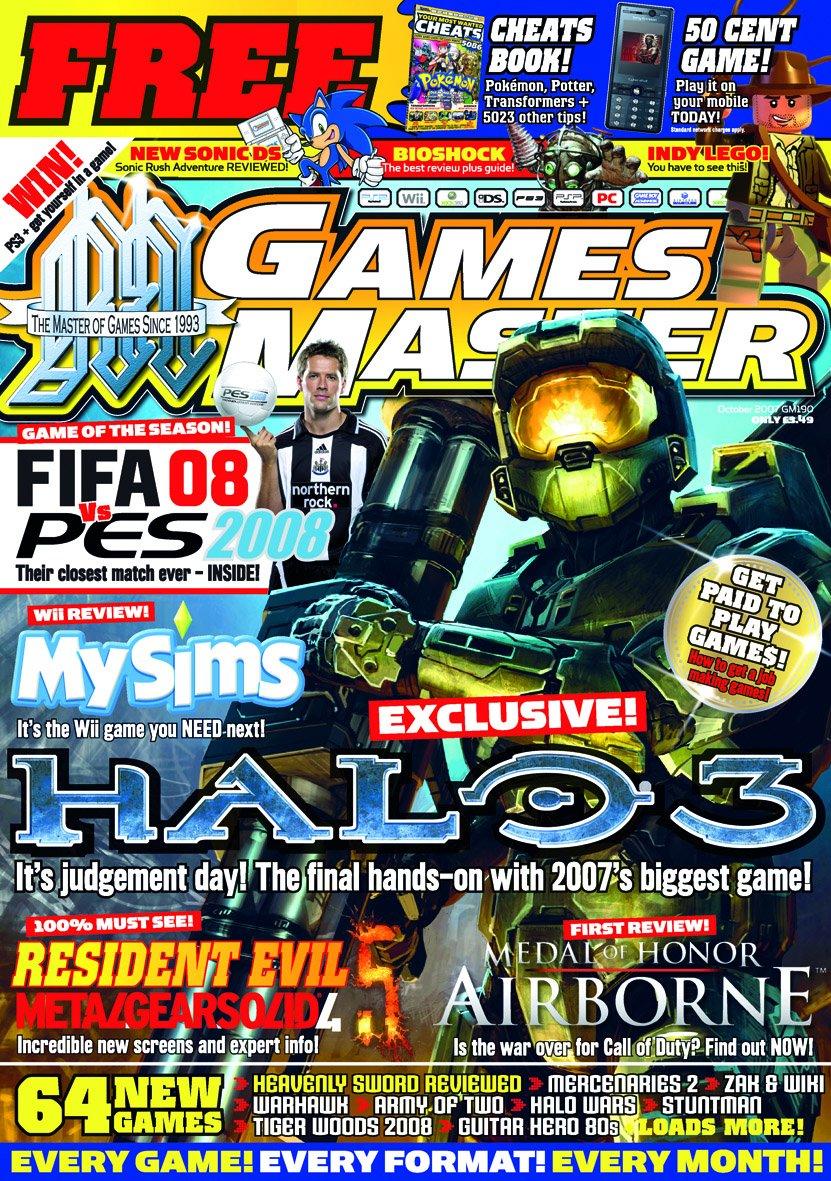 GamesMaster Issue 190 (October 2007)
