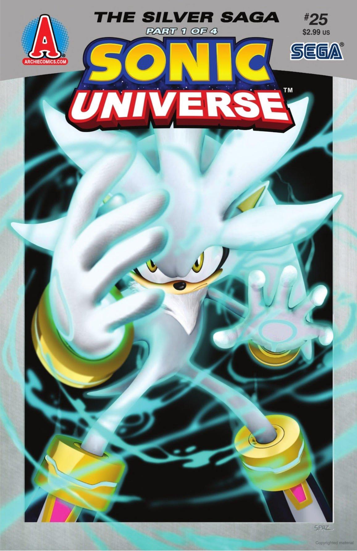 Sonic Universe 025 (April 2011)