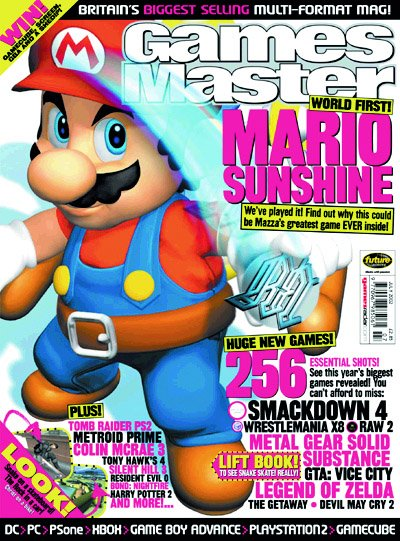 GamesMaster Issue 122 (July 2002)