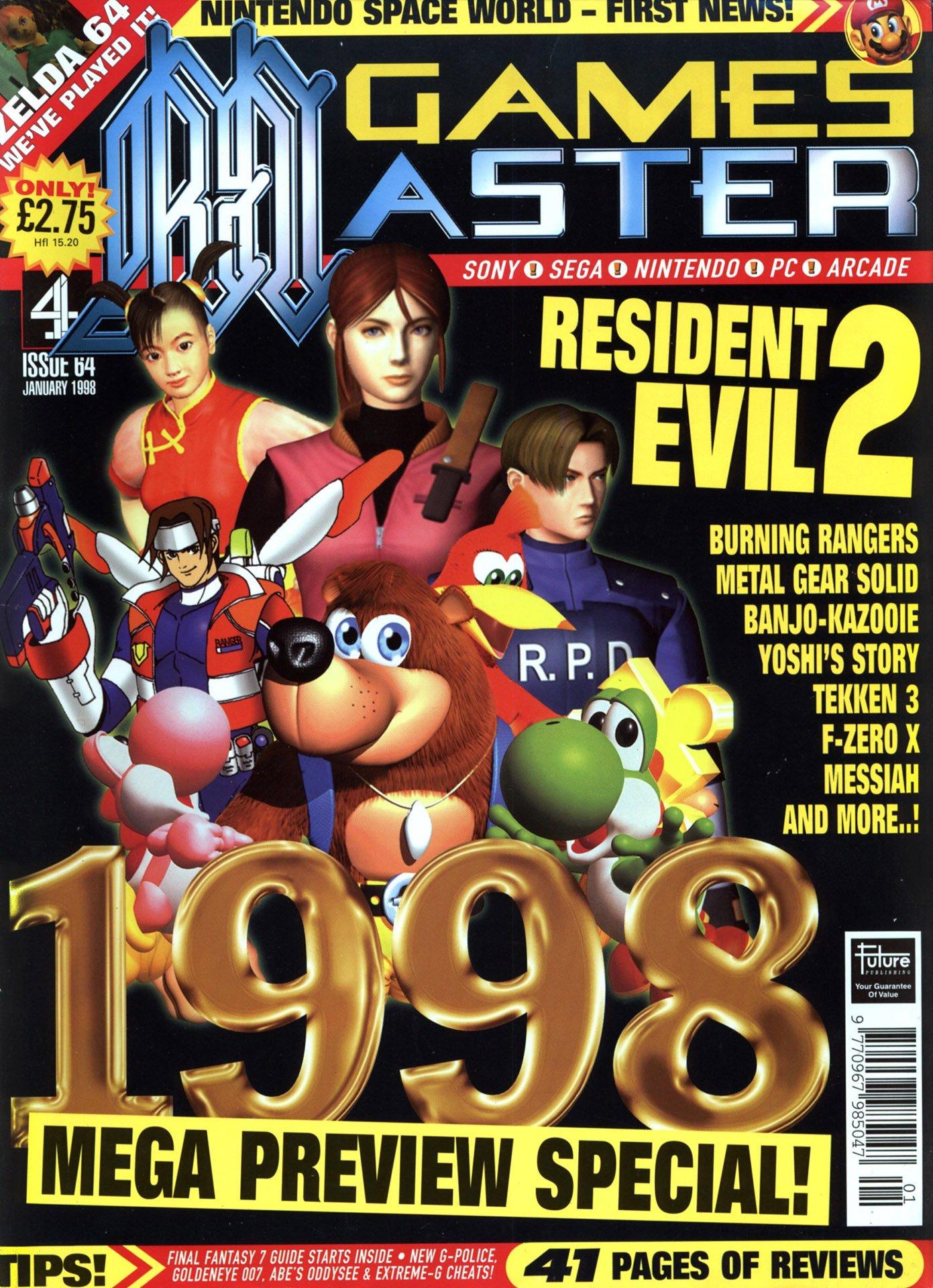 GamesMaster Issue 064 (January 1998)