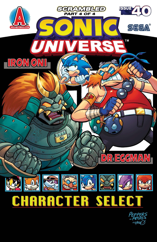 Sonic Universe 040 (July 2012)