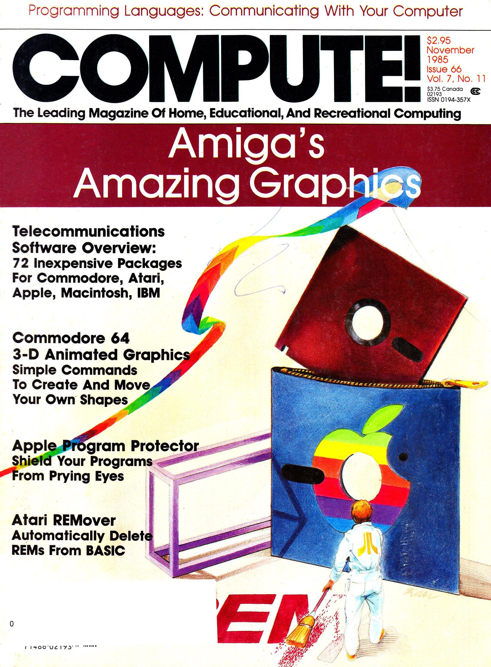 Compute! Issue 066 Vol. 7 No.11 (November 1985)