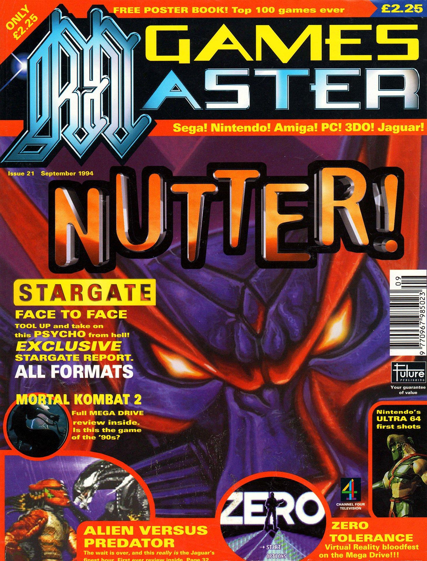 GamesMaster Issue 021 (September 1994)