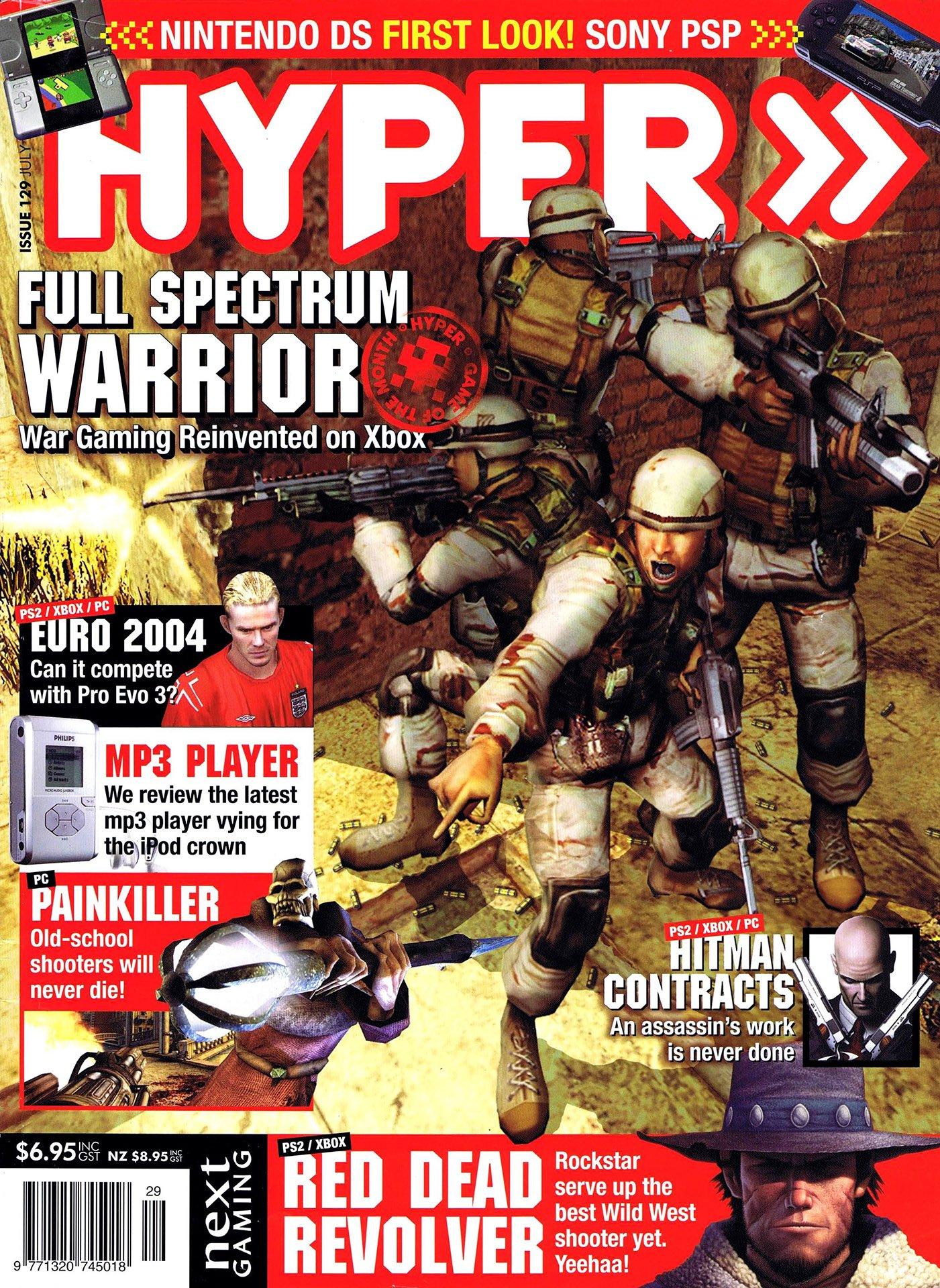Hyper 129 (July 2004)