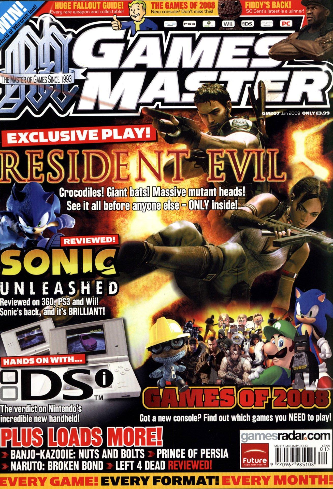 GamesMaster Issue 207 (January 2009)