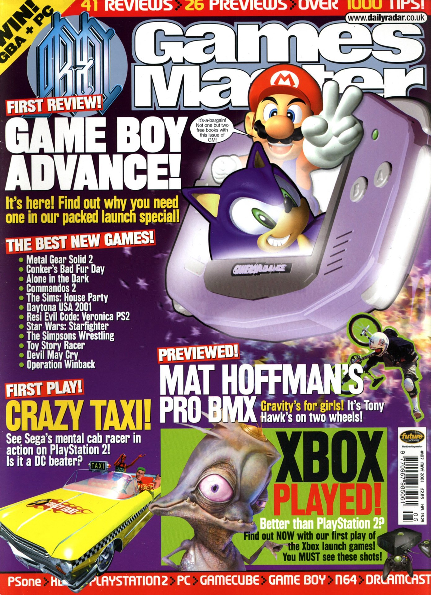GamesMaster Issue 107 (May 2001)