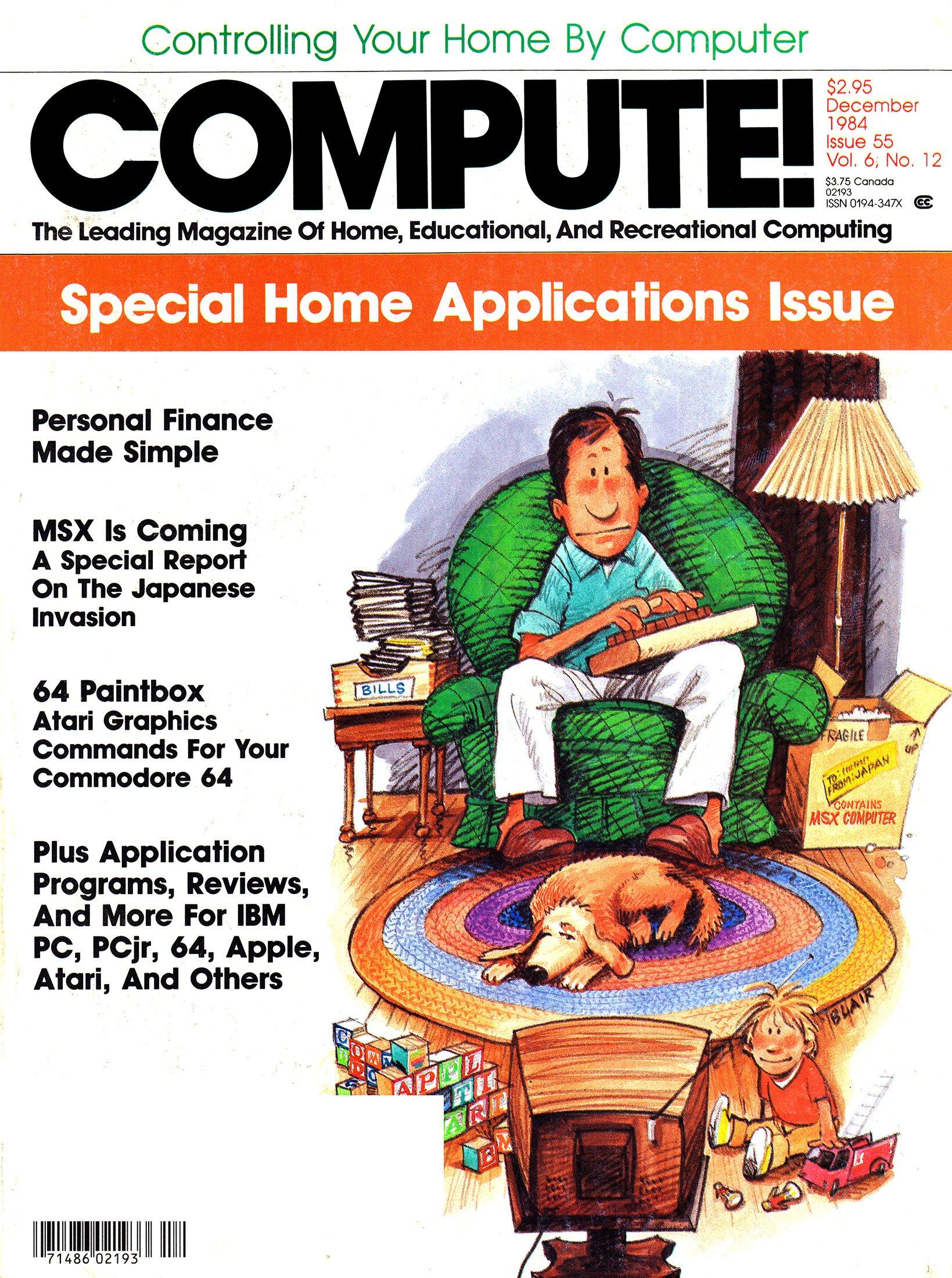 Compute! Issue 055 Vol. 6 No. 12 (December 1984)
