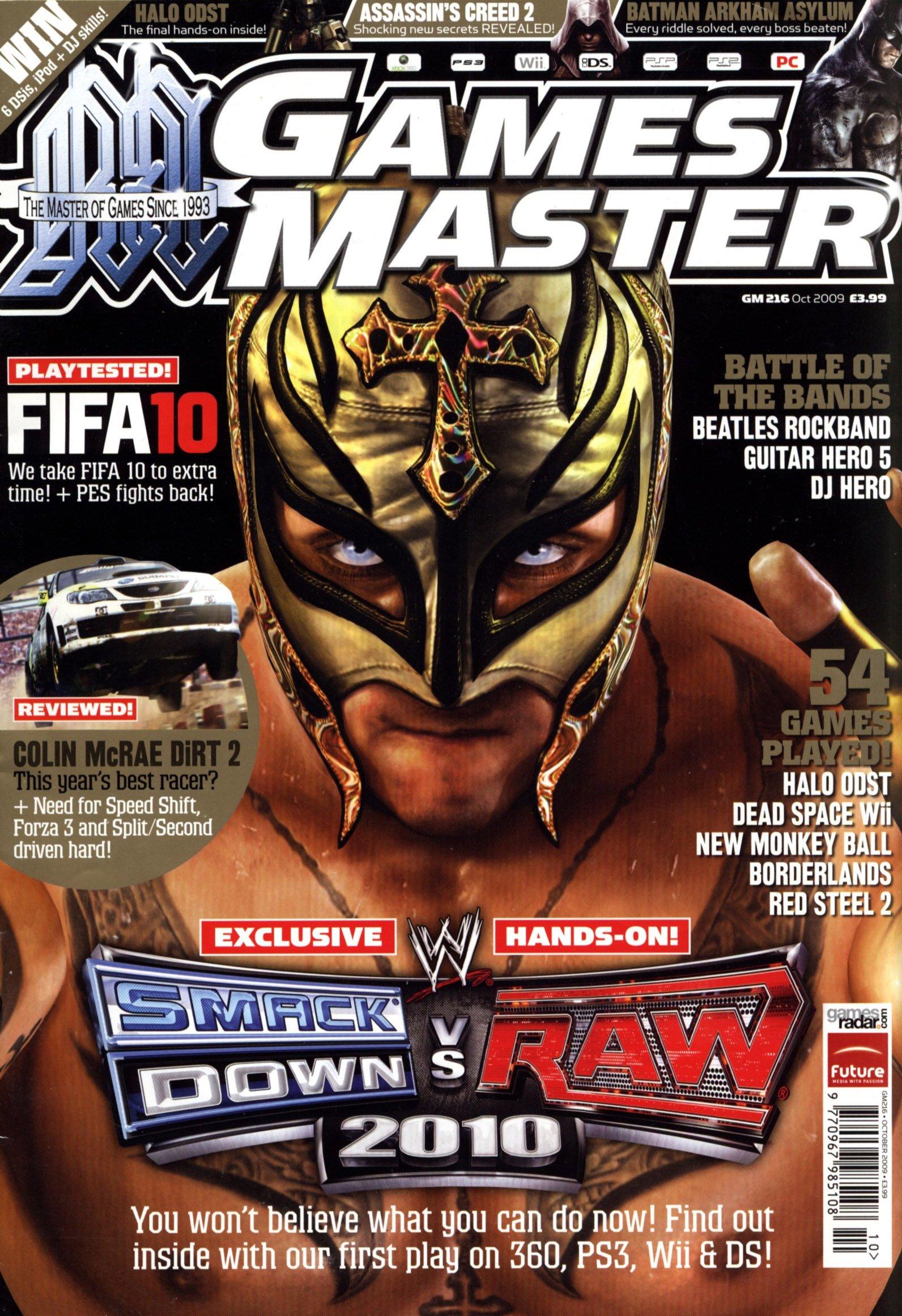 GamesMaster Issue 216 (October 2009)