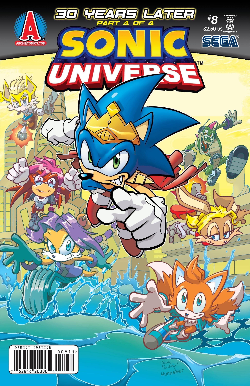 Sonic Universe 008 (November 2009)