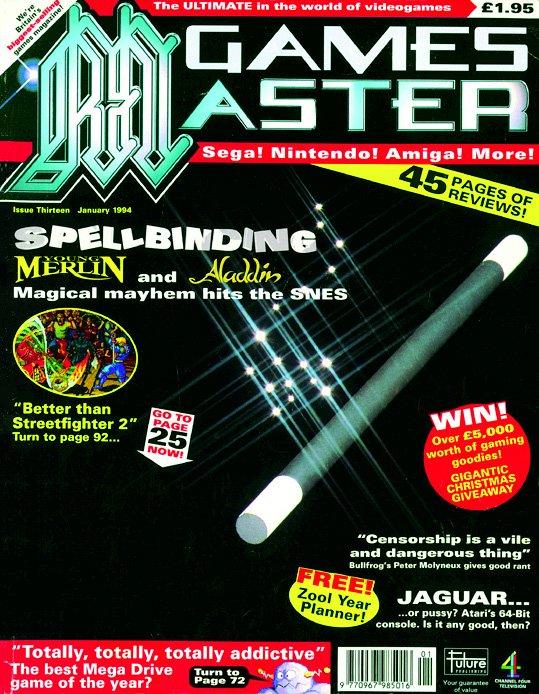 GamesMaster Issue 013 (January 1994)