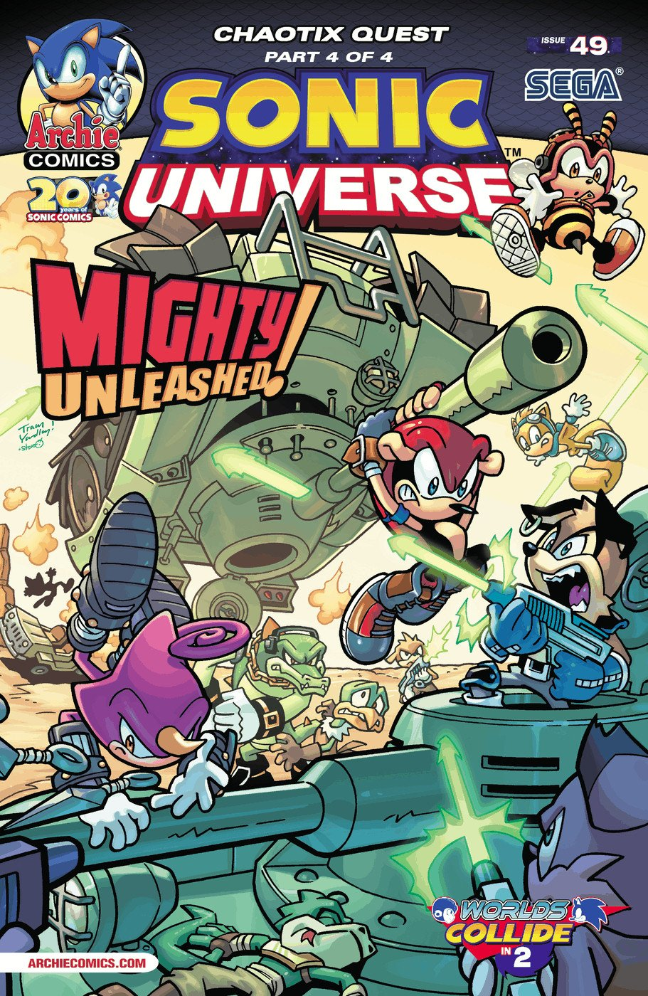 Sonic Universe 049 (April 2013)