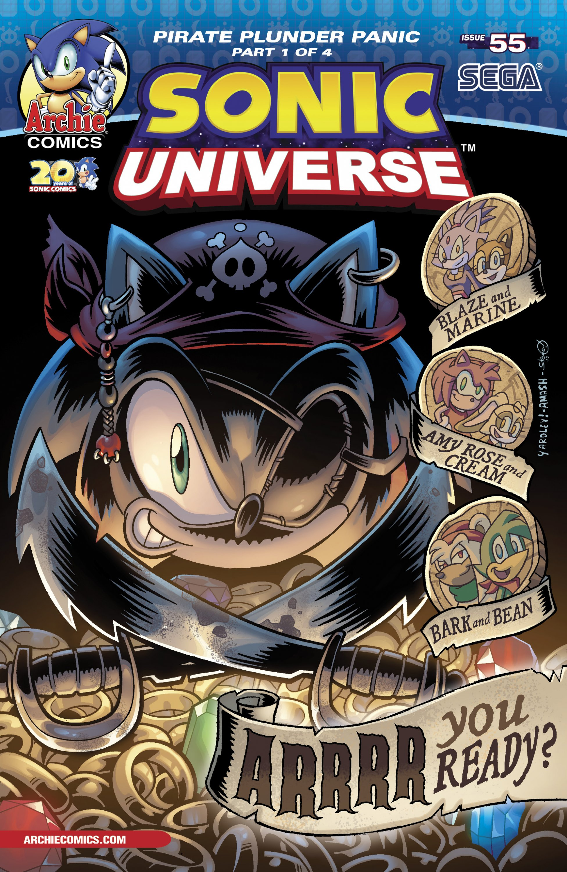 Sonic Universe 055 (October 2013)