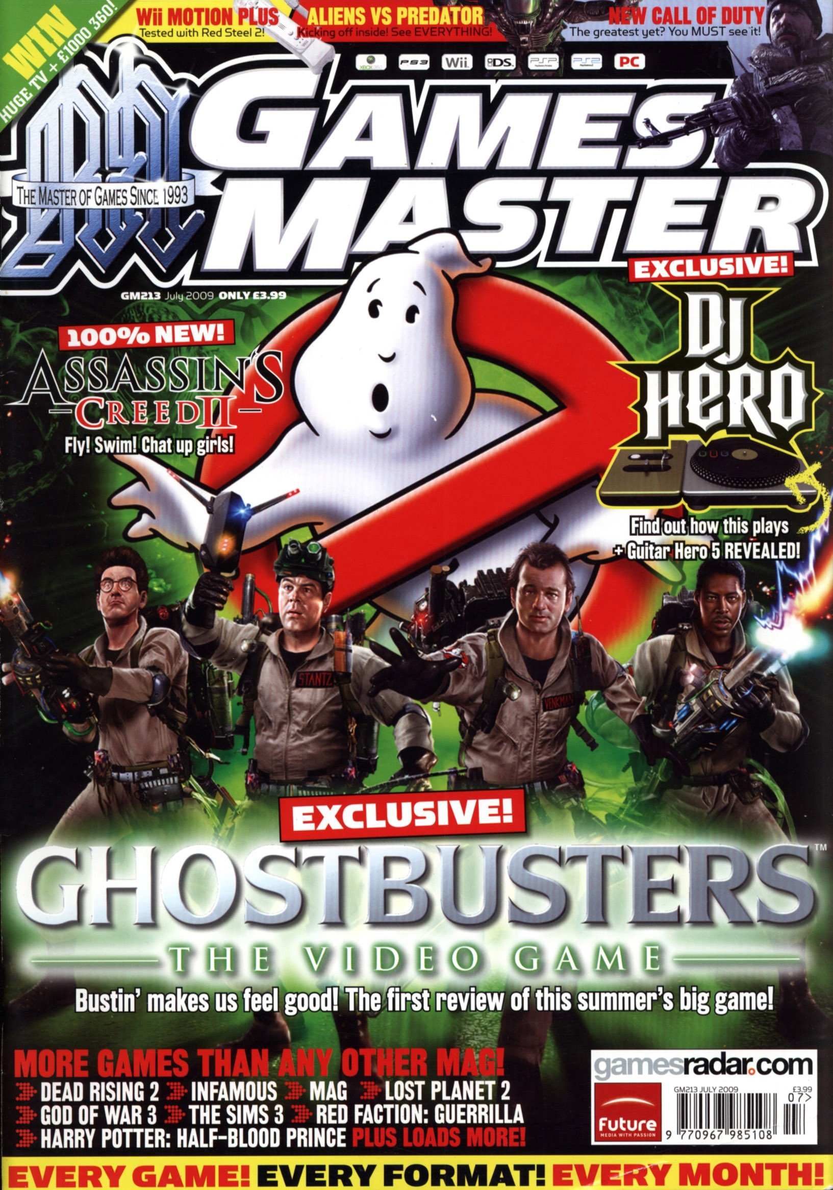 GamesMaster Issue 213 (July 2009)