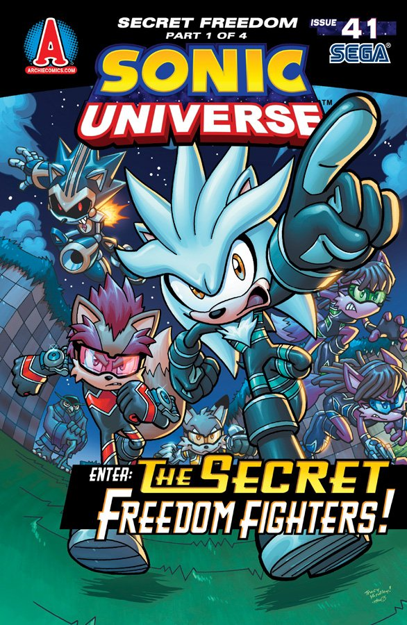 Sonic Universe 041 (August 2012)
