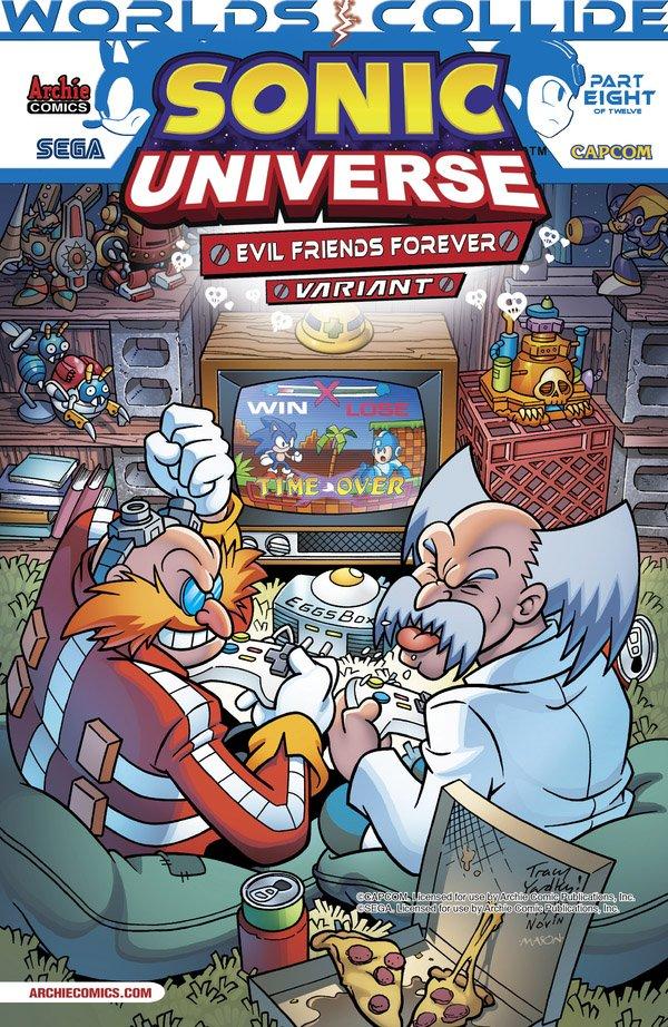 Sonic Universe 053 (August 2013) (Evil Friends Forever variant)