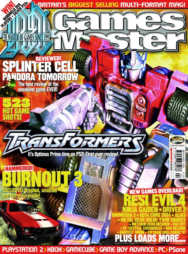GamesMaster Issue 145 (April 2004)