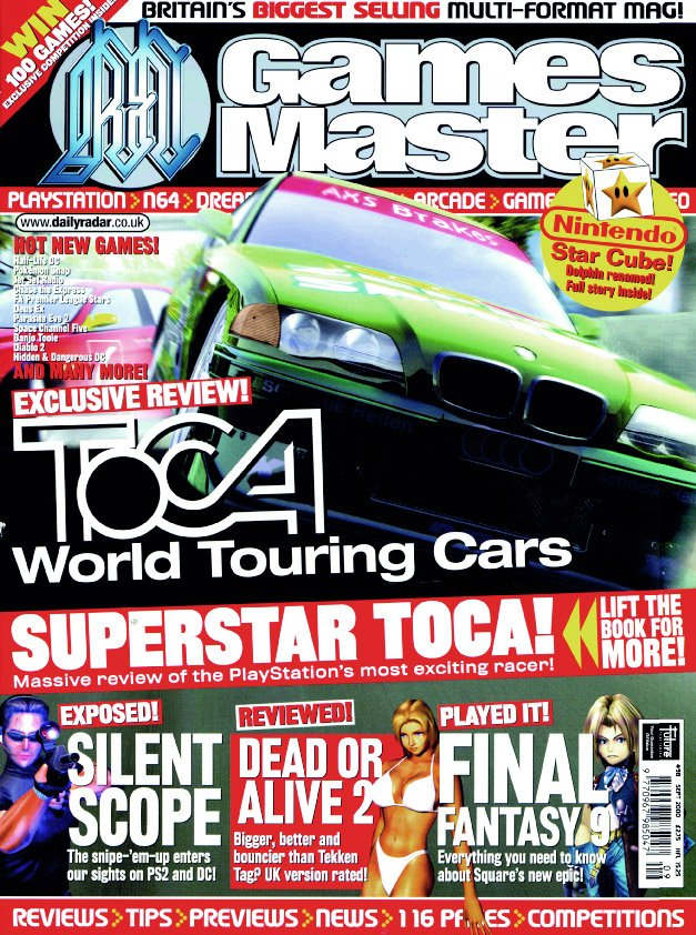 GamesMaster Issue 098 (September 2000)