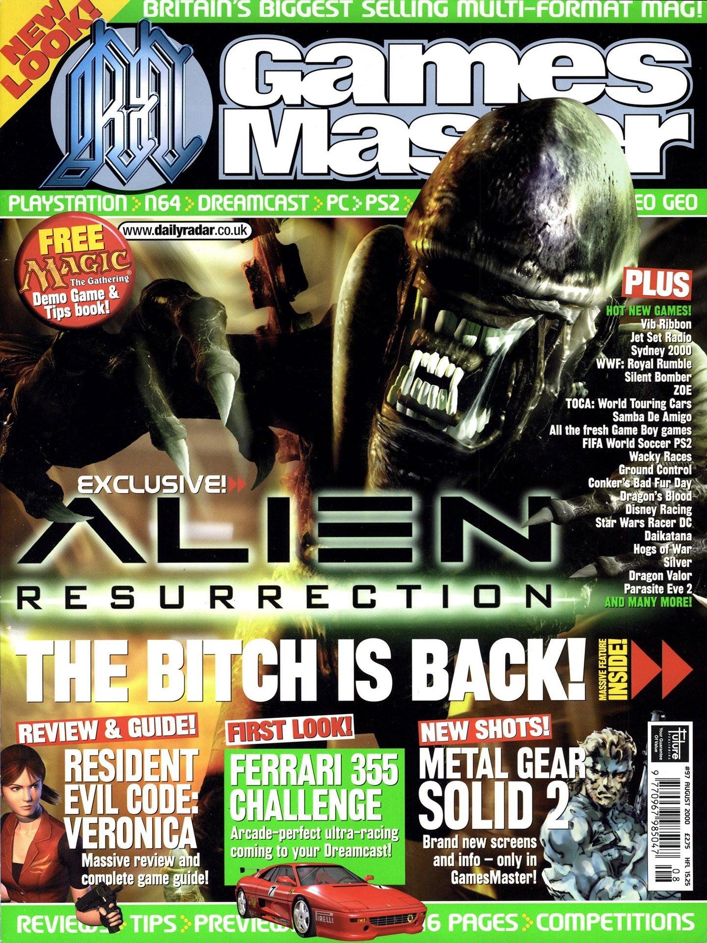 GamesMaster Issue 097 (August 2000)
