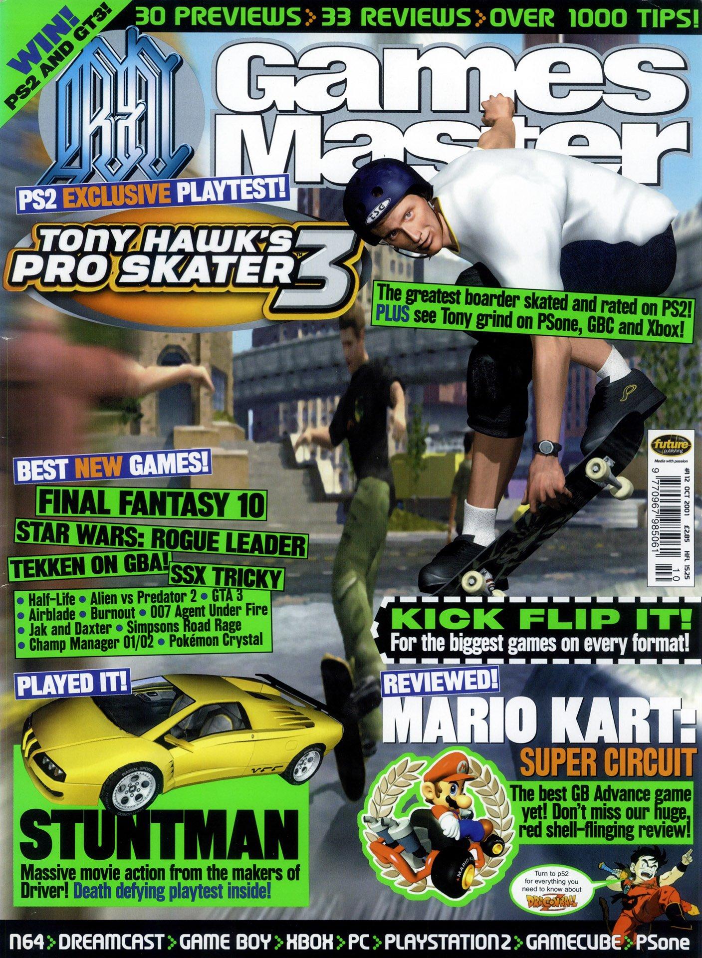 GamesMaster Issue 112 (October 2001)