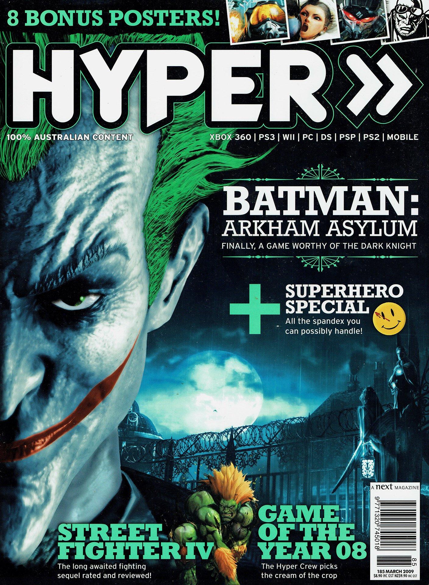 Hyper 185 (March 2009)