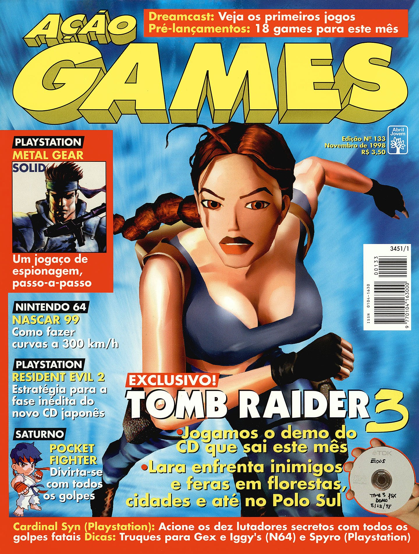 Acao Games Issue 133 (November 1998)