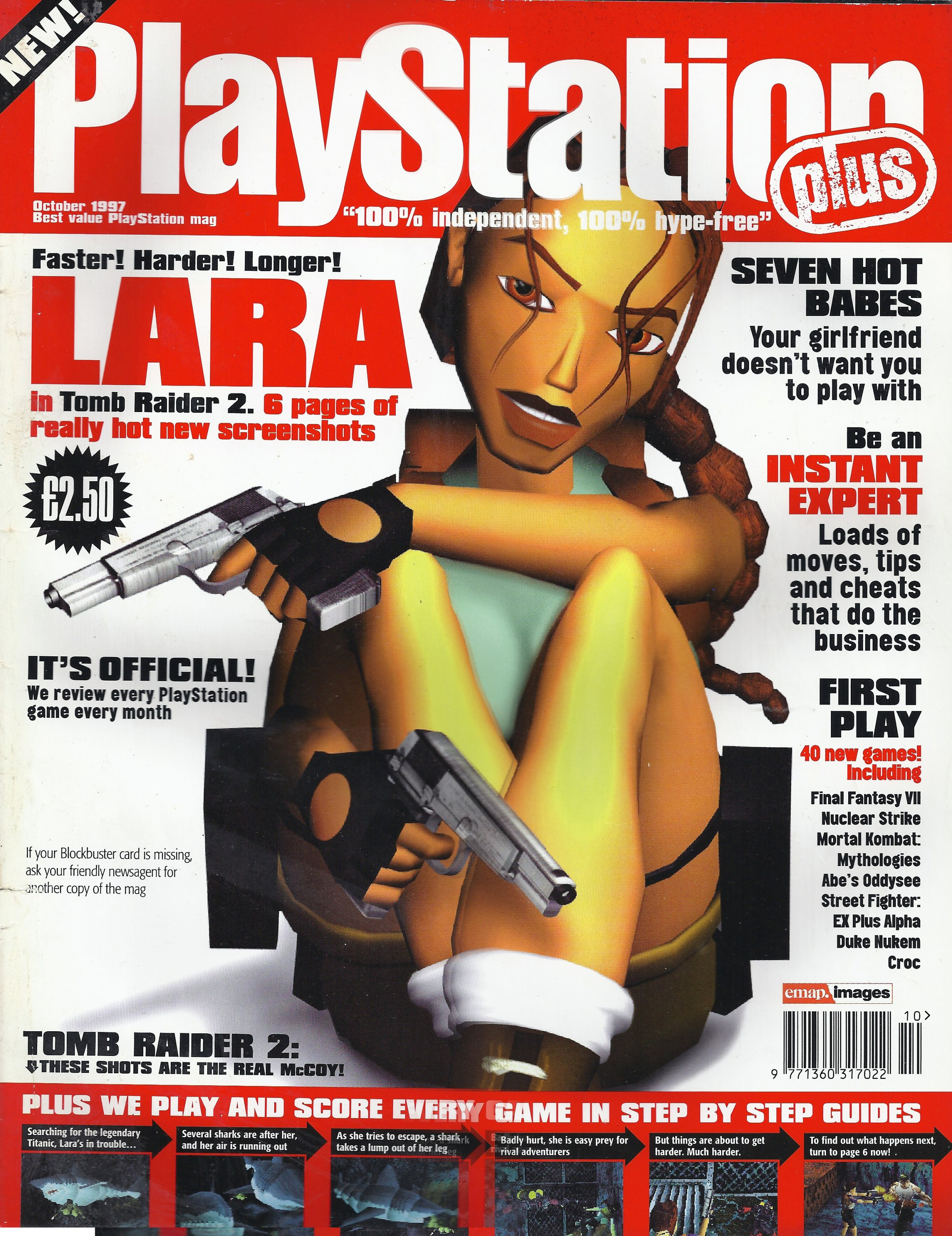 Playstation Plus Issue 025 (October 1997)