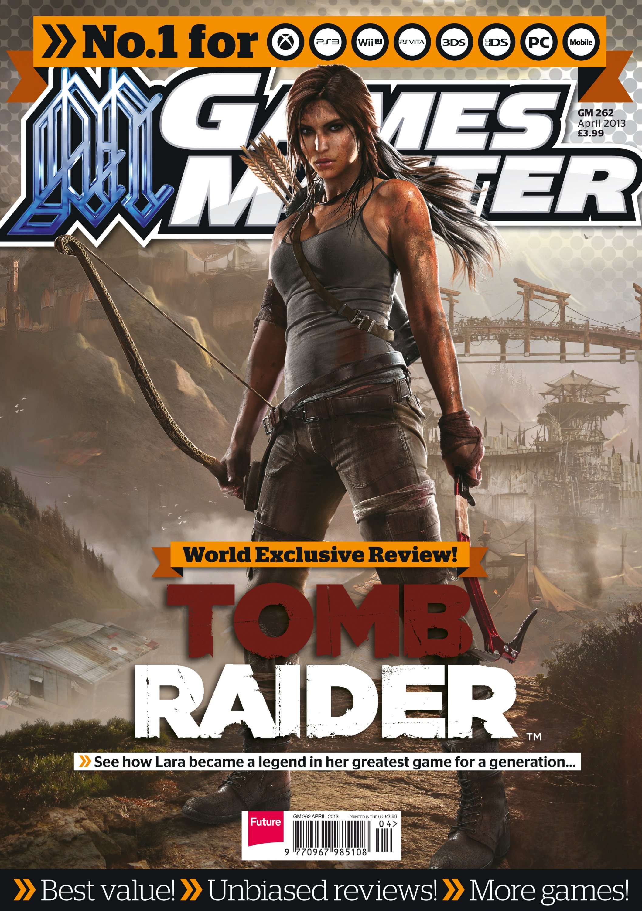 GamesMaster Issue 262 (April 2013) (print edition)