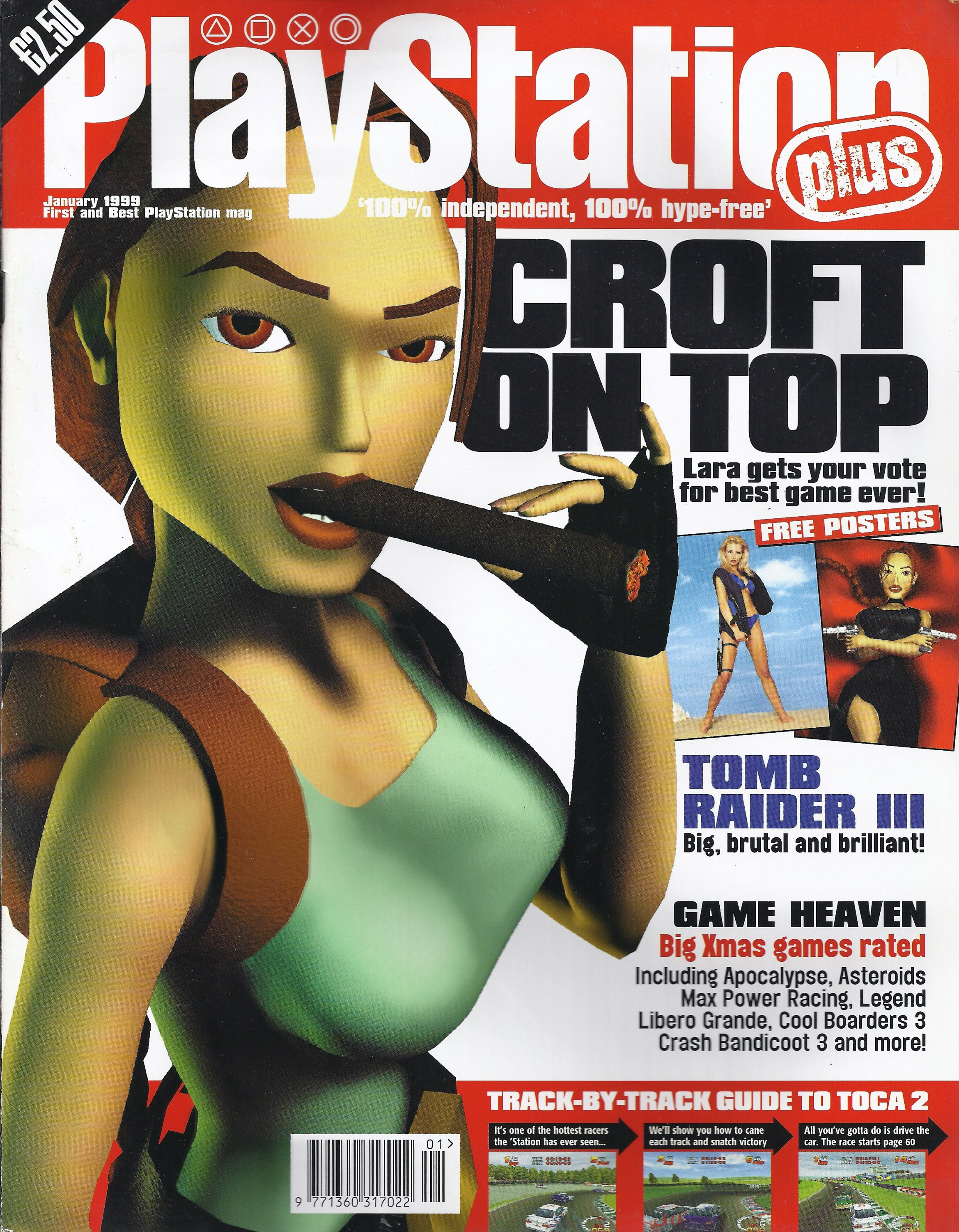 Playstation Plus Issue 040 (January 1999)