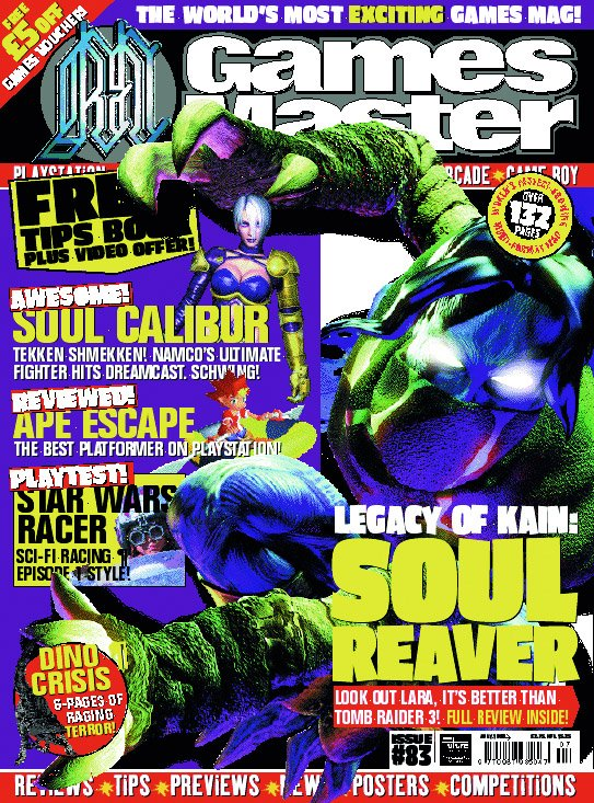 GamesMaster Issue 083 (July 1999)