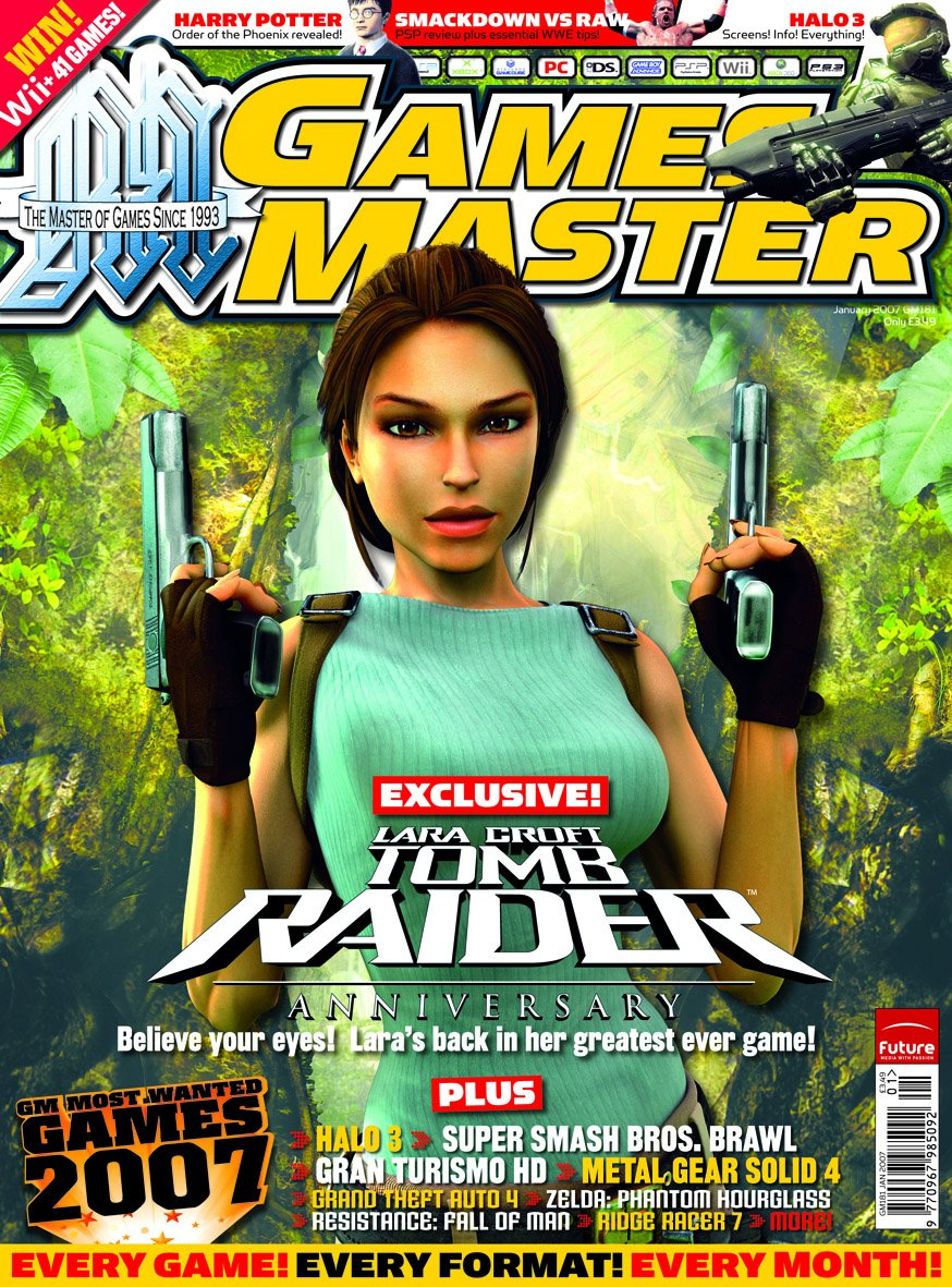GamesMaster Issue 181 (January 2007)