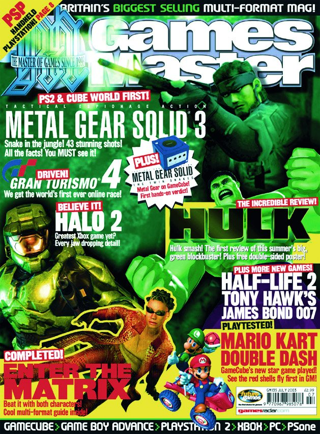 GamesMaster Issue 135 (July 2003)