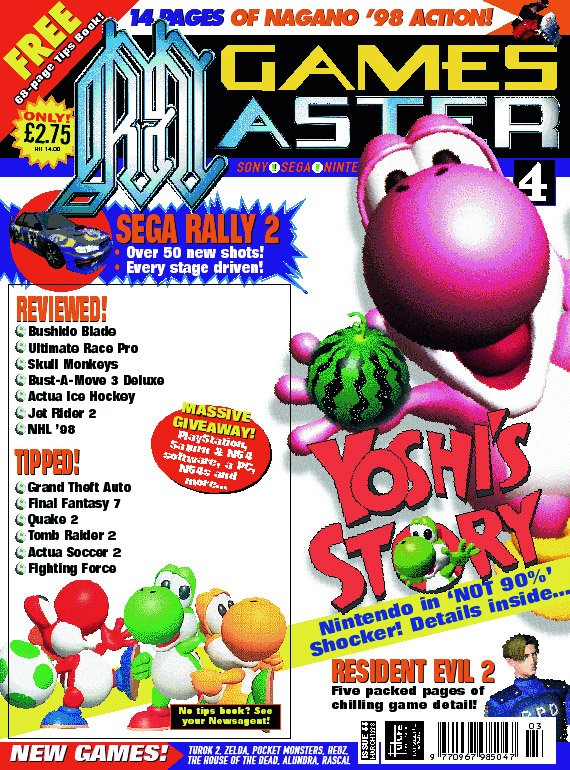 GamesMaster Issue 066 (March 1998)