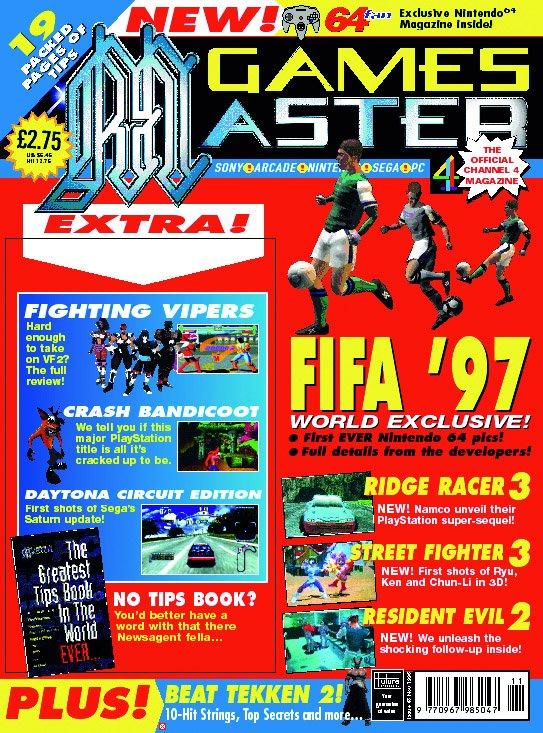 GamesMaster Issue 048 (November 1996)