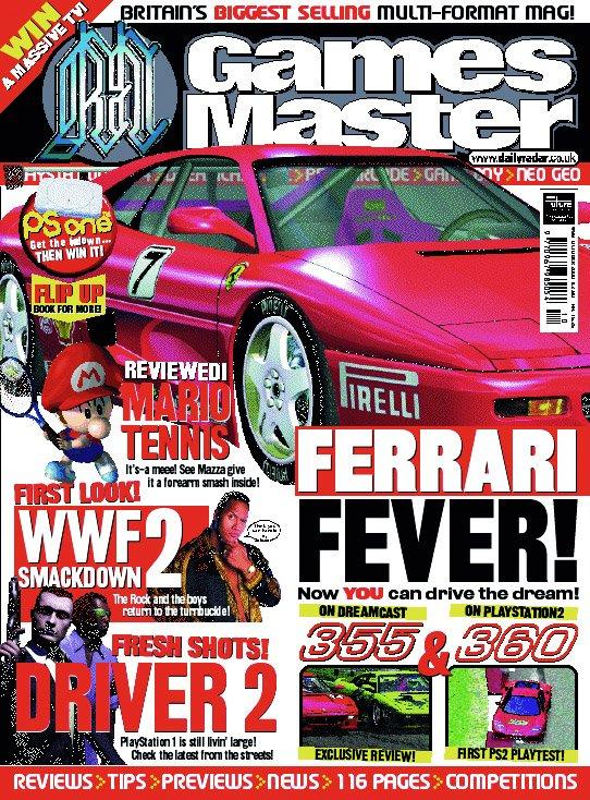 GamesMaster Issue 099 (October 2000)