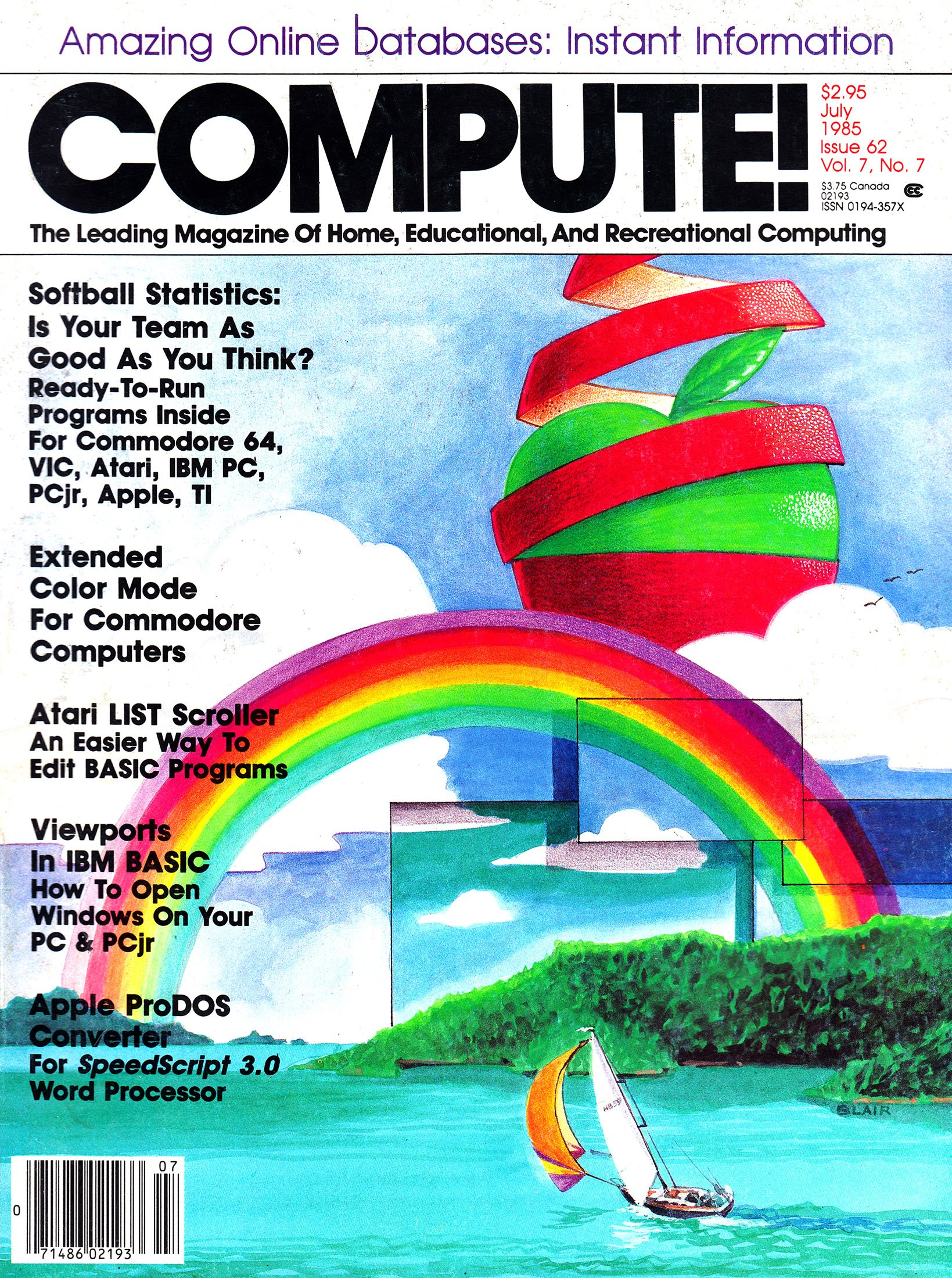 Compute! Issue 062 Vol. 7 No.7 (July 1985)