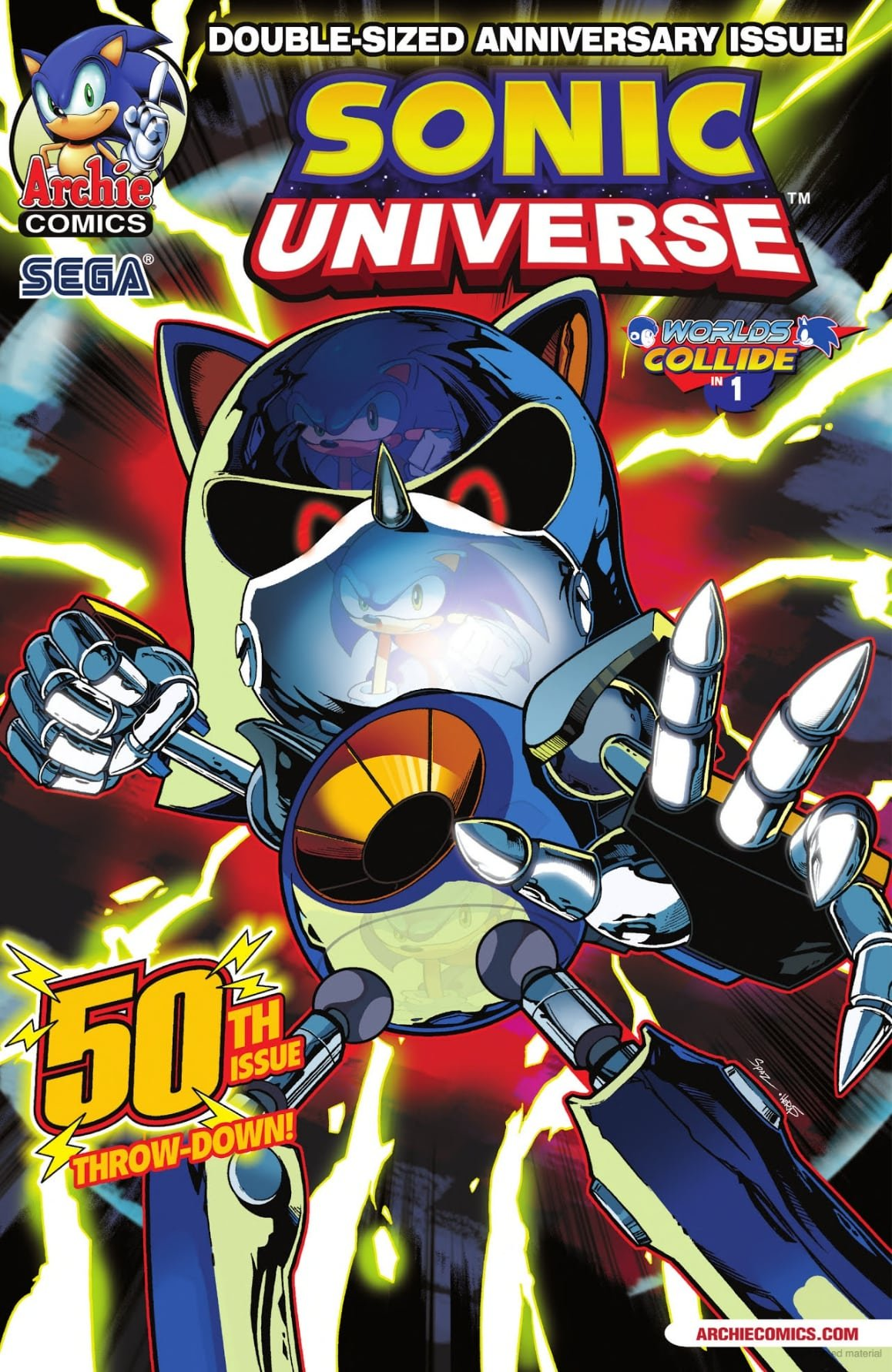 Sonic Universe 050 (May 2013)