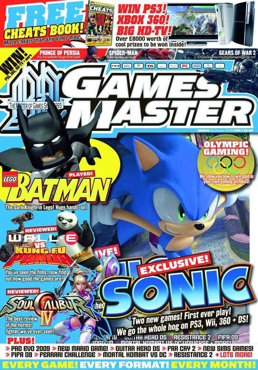GamesMaster Issue 202 (September 2008)