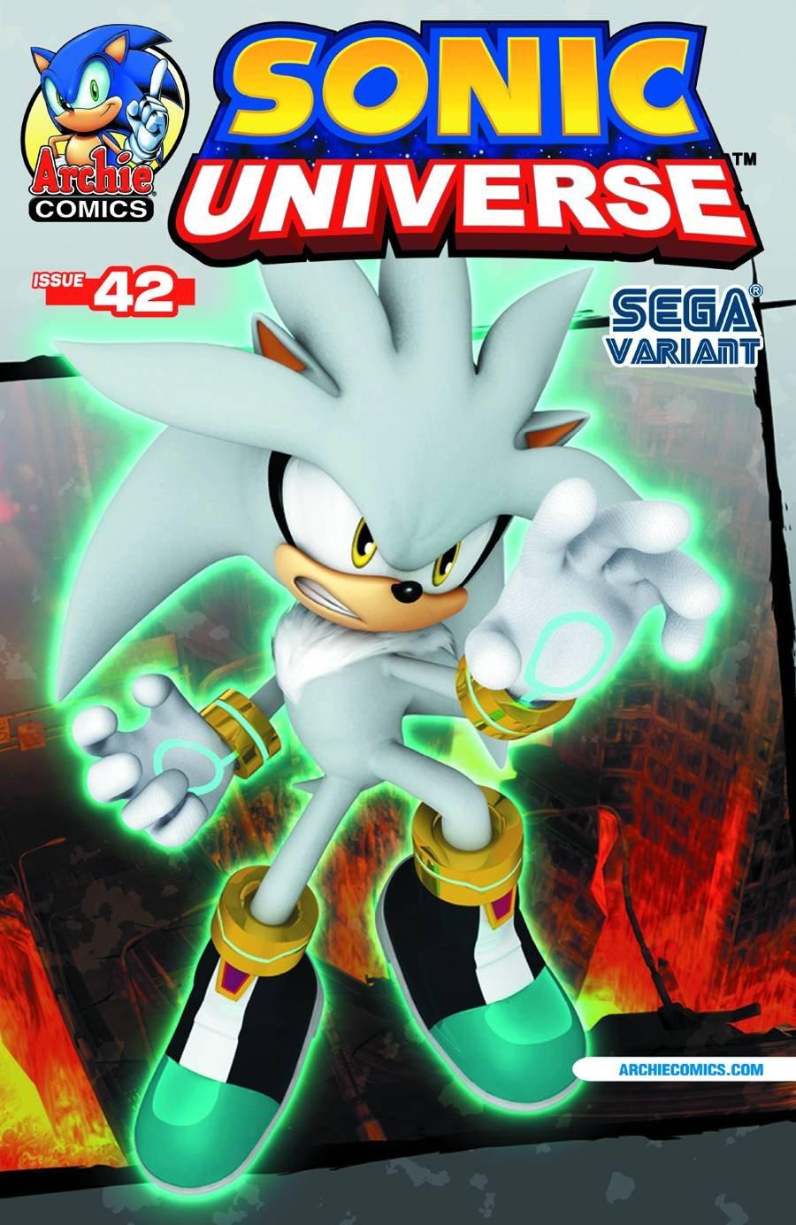 Sonic Universe 042 (September 2012) (Sega variant)