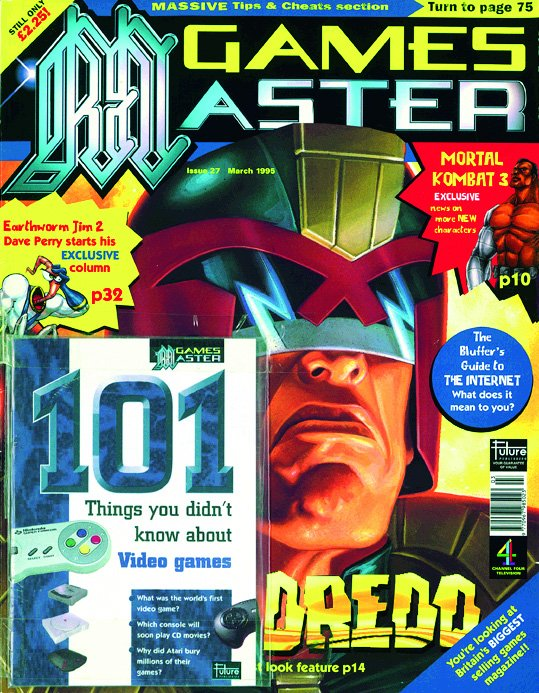 GamesMaster Issue 027 (March 1995)