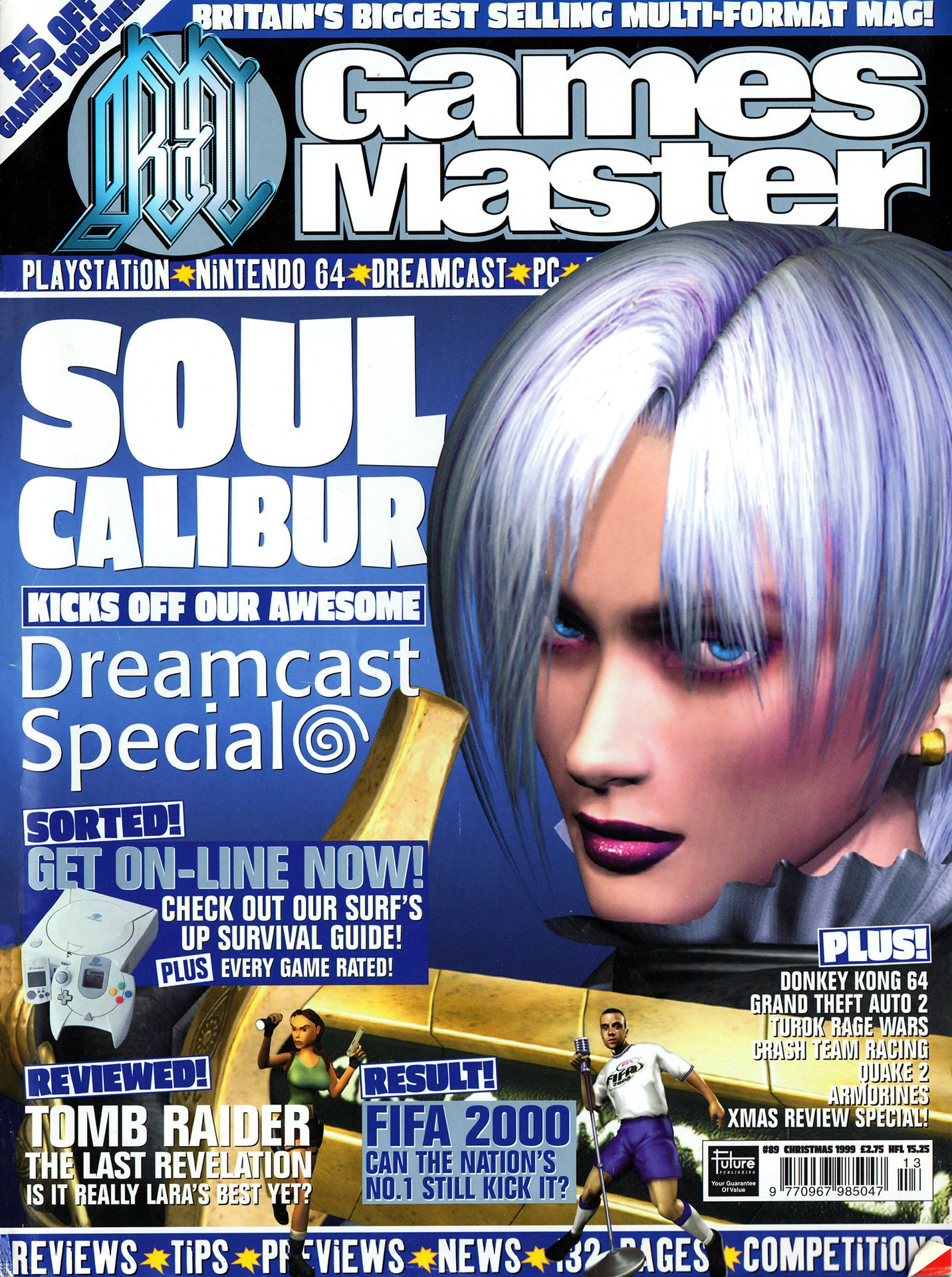 GamesMaster Issue 089 (Christmas 1999)
