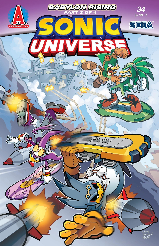 Sonic Universe 034 (January 2012)